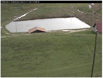 Patinoire de L'Auberson, webcam
