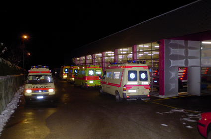 Unification des services d'ambulances